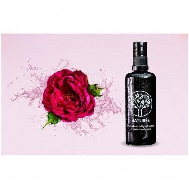 Rožių hidrolatas su hialurono rūgštimi, NATURÉE 2